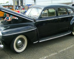 1941 DeSoto 4-door sedan.  (Owned by Frank Summer)