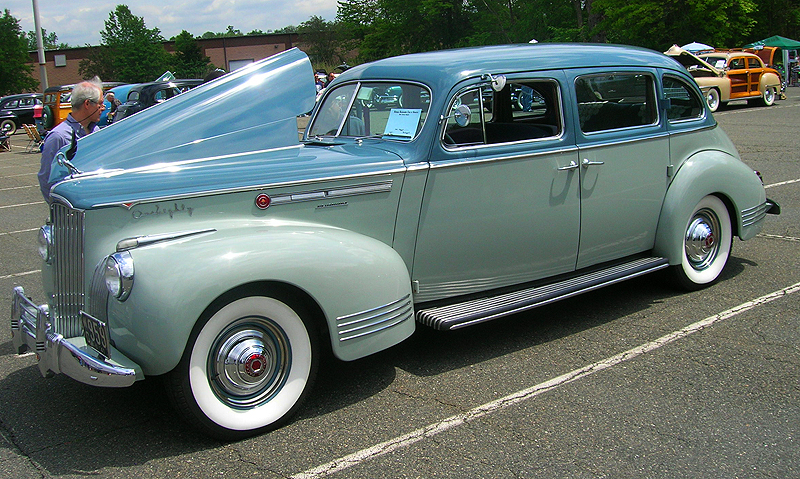 1941 Packard 4-door sedan.  (Owned by Sal Saiya)