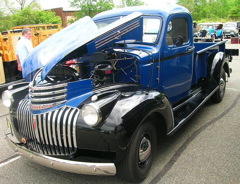 1946 Chevrolet 3600 3/4-ton picktup truck.  (Owned by Tim Schimmel)