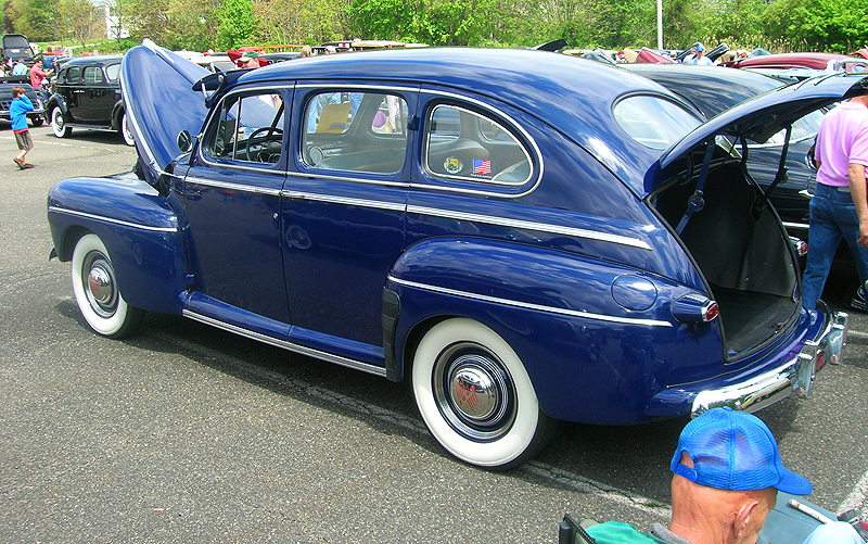 1946 Ford 4-door sedan.  (Owned by Don Wussler).