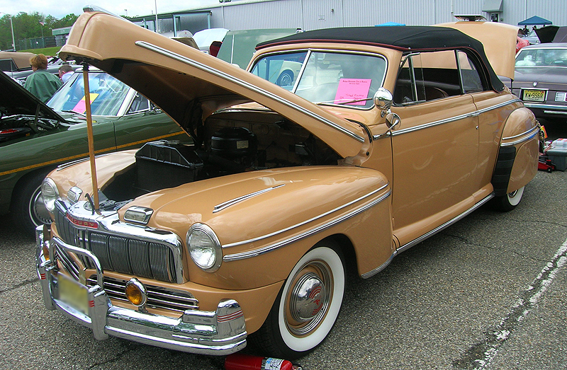 1946 Mercury Sportsman convertible.  (Owned by Richard Mowbry)