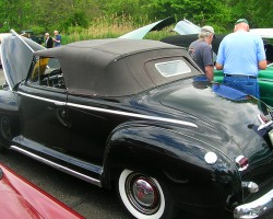 1948 Plymouth Special DeLuxe convertible.  (Owned by Duane Copley)