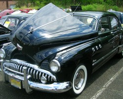1949 Buick Super 4-door sedan.  (Owned by David Weiss)