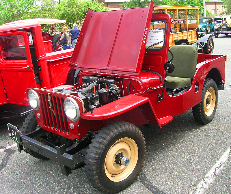 1949 Willys Jeep 4x4 army vehicle.  (Owned by Frank Galante)