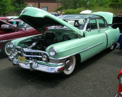 1950 Cadillac 4-door sedan.  (Owned by Bob Hedderick)