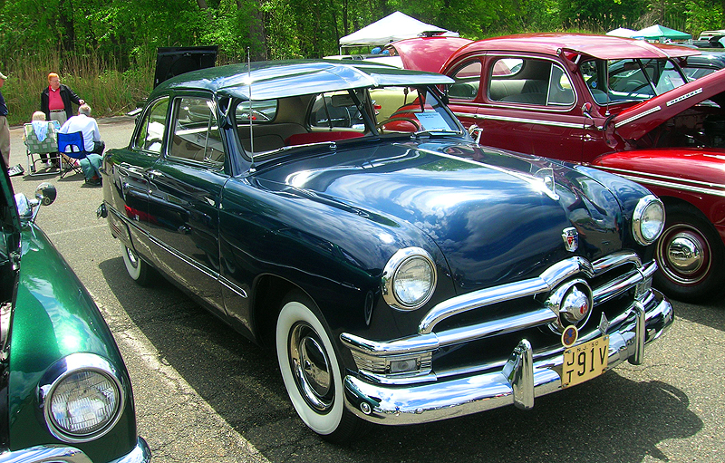 1950 Ford Custom DeLuxe 4-door sedan.  (Owned by Dave Zimmerman)