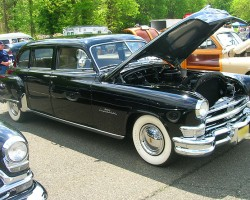 1951 Chrysler Imperial limousine.  (Owned by Paul Wolfmeyer)