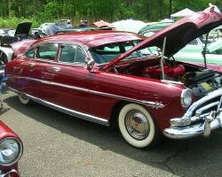 1952 Hudson Hornet 4-door sedan.  (Owned by Wayne Tuck)