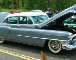 1953 Cadillac 4-door sedan.  (Owned by Bernard Cooney)