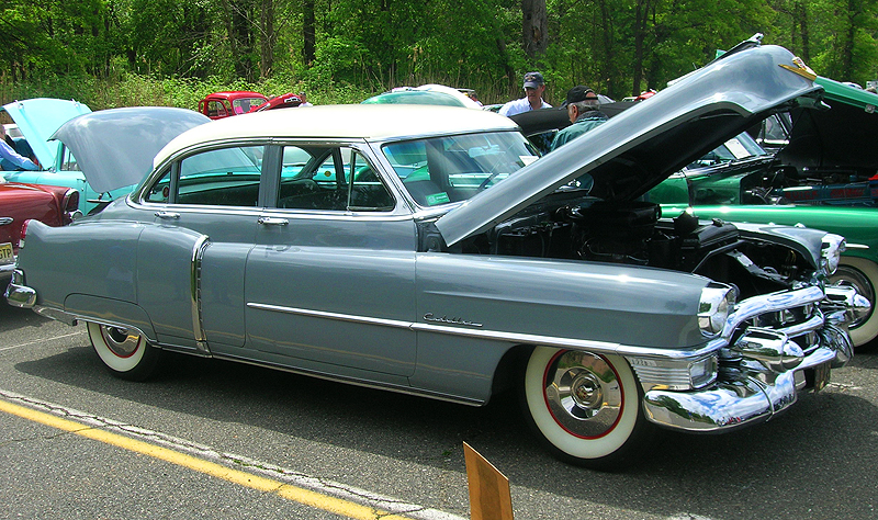 1953 cadillac classic cars today online for 1953 cadillac 4 door sedan