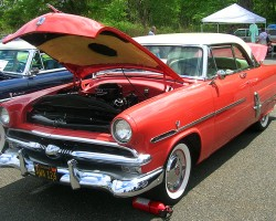 1953 Ford Crestline hardtop coupe.  (Owned by Don Haynes)