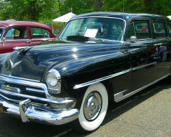 1954 Chrysler New Yorker limousine.  (Owned by Chip Loree)