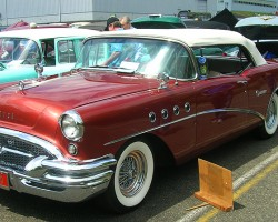 1955 Buick Century convertible.  (Owned by Chet Kuklewa)