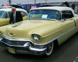 1956 Cadillac deVille convertible.  (Owned by Jay Raskin)