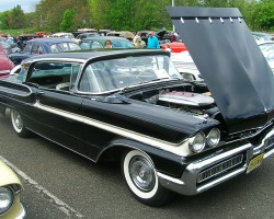 1958 Mercury Park Lane hardtop coupe.  (Owned by Robert Babriecki)