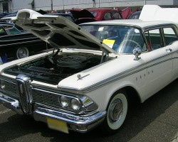 1960 Edsel Corsair sedan.  (Owned by Joseph Satkosky)