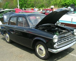 1959 Hillman Minx 4-door sedan.  (Owned by Earle George)