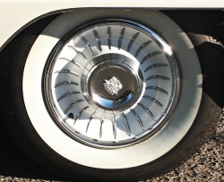 1961 cadillac wheel cover