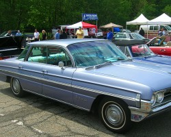 1961 Oldsmobile 98 hardtop sedan.  (Owned by Bill Pritchett)