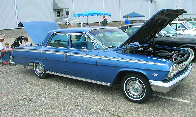1962 Chevrolet Impala 4-door sedan.  (Owned by Dave Cavagnaro)