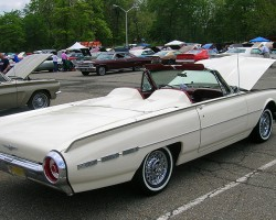 "1962 Ford Thunderbird ""Ghia"" convertible.  (Owned by Clint Elvin)"