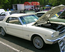 1964 Ford Mustang convertible.  (Owned by William Schulz)