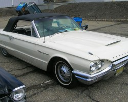 1964 Ford Thunderbird convertible.  (Owned by Jeff Krebs)