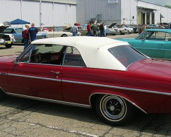 1965 Buick Skylark convertible.  (Owned by King Schaedel)