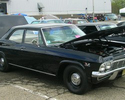 1966 Chevrolet Biscayne 4-door sedan.  (Owned by Joe Prudente)