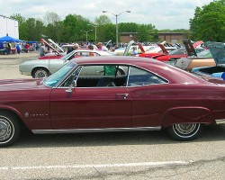 1965 Chevrolet Impala SS hardtop coupe.  (Owned by Margaret Graham)