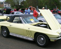 1966 Chevrolet Corvette convertible.  (Owned by Herb Springle)