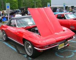 1966 Chevrolet Corvette convertible.  (Owned by Jeff Sklar)