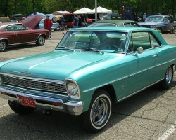 1966 Chevrolet Nova II coupe.  (Owned by Jim Koren)