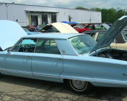 1966 Chrysler Newport 4-door sedan.  (Owned by William Hatton)