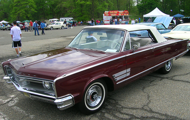 1966 Chrysler 300 convertible.  (Owned by Pete Harrington)