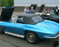 1967 Chevrolet Corvette convertible.  (Owned by Peter Flemming)