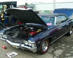 1967 Chevrolet Impala convertible.  (Owned by Rick Symons)