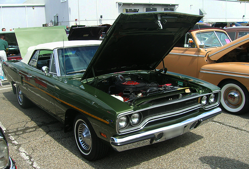 1970 Plymouth Satellite Road Runner convertible.  (Owned by Bonnie Schmidtke)