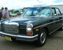 1971 Mercedes 250 sedan.  (Owned by John Longo)