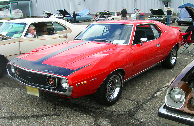 1972 American Motors AMX.  (Owned by Joseph Acocella)