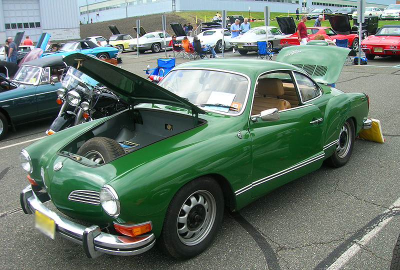 1972 Volkswagen Karmann-Ghia coupe.  (Owned by Marion Rapp)