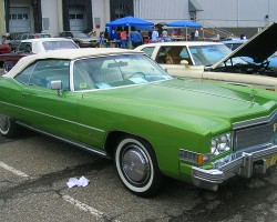1974 Cadillac Eldorado convertible.  (Owned by Daniel Espy)