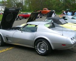 1974 Chevrolet Corvette coupe.  (Owned by Andrew Messineo)
