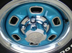 Chevrolet rally wheel