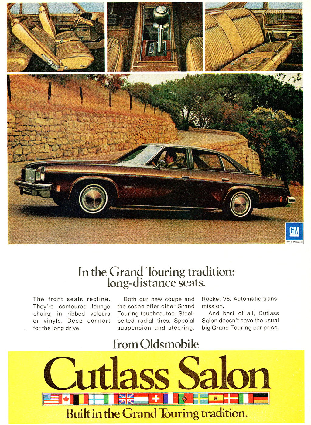 1974 oldsmobile cutlass salon ad classic cars today online for 1974 cutlass salon