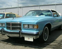 1975 Pontiac Grand Ville convertible arctic blue