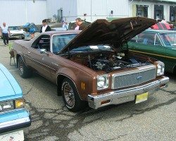 1976 Chevrolet El Camino.  (Owned by Ron Pankow)