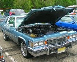 1978 Cadillac Coupe de Ville.  (Owned by Michael Cascio)