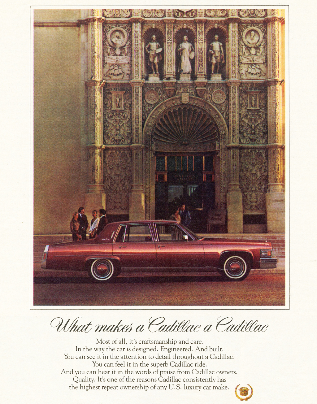 1978 cadillac fleetwood advertisement