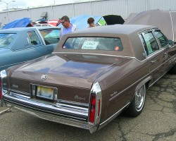 1982 Cadillac Fleetwood Brougham.  (Owned by Siston Caponera)